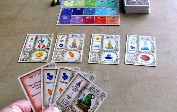 Potion Making: Practice - připravená hra