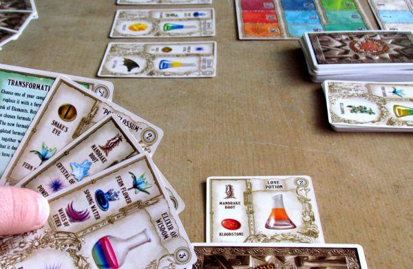 Potion Making: Practice - game in progress