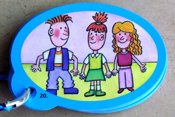 Povídačky Junior - karty