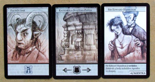 Příběhy Impéria: Mocnosti - karty