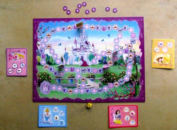 Princezny: Královna plesu - rozehraná hra
