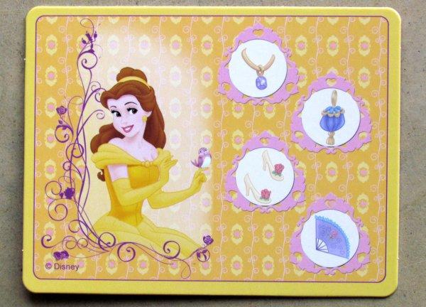 Princezny: Královna plesu - karta hráče