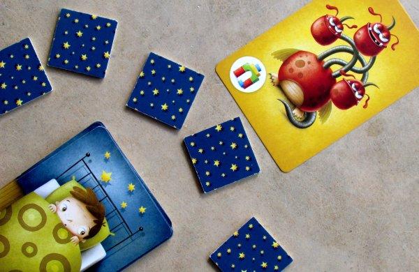 Příšerky ze skříně - připravená hra
