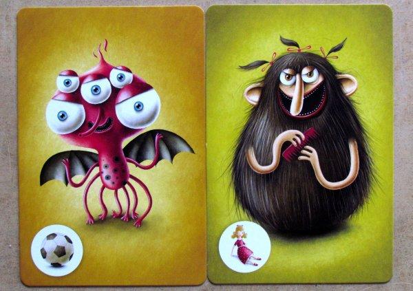 Příšerky ze skříně - karty