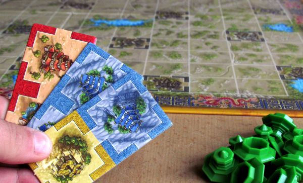 Qin - připravená hra