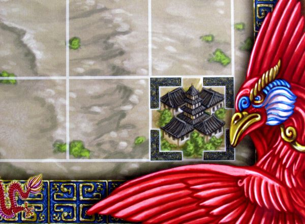 Qin - detail herního plánu