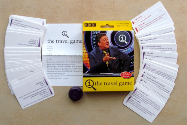 QI: The Travel Game - balení