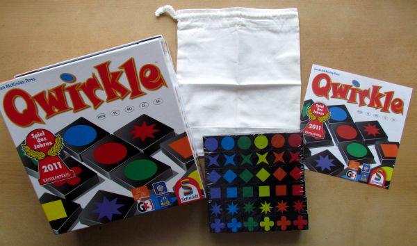 Qwirkle - balení