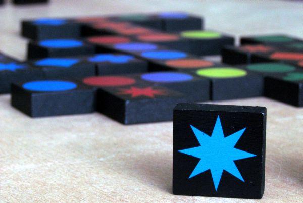 Qwirkle - rozehraná hra