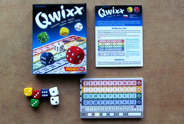 Qwixx - balení