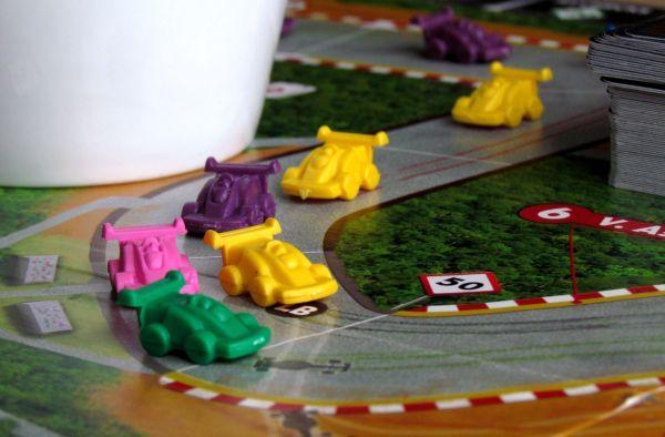 Race! Formula 90 - rozehraná hra