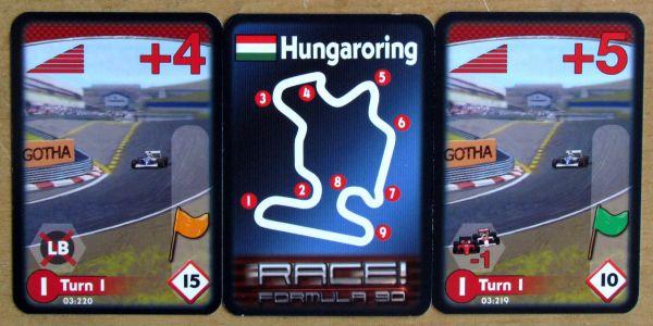 Race! Formula 90 - karty