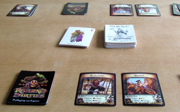Raiding Parties - rozehraná hra