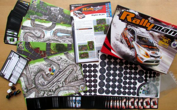 Rallyman - packaging