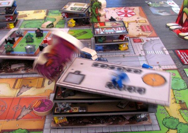 Terror in Meeple City - rozehraná hra