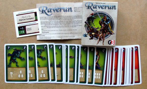 Raverun - packaging