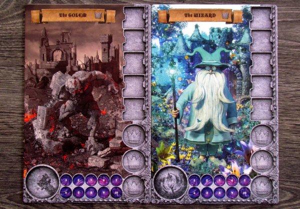Realm of Wonder - hráčské desky