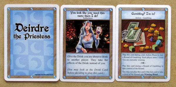 Red Dragon Inn - cards