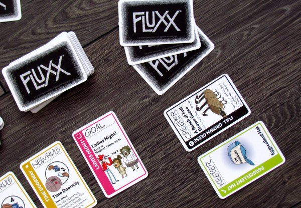 Regular Show Fluxx - game in progress