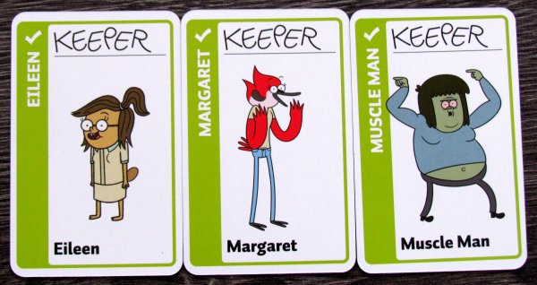 Regular Show Fluxx - cards