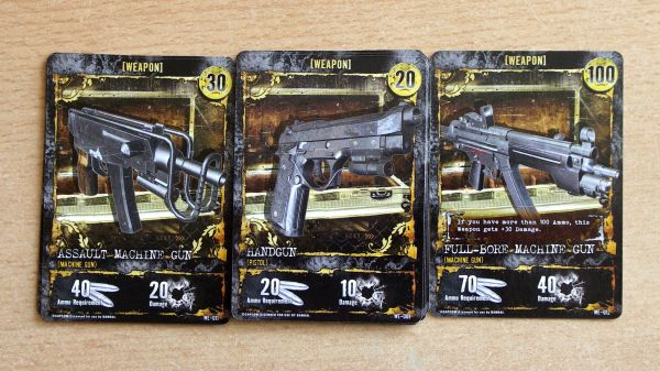 Photo: Resident Evil: Deck Building Game - cards