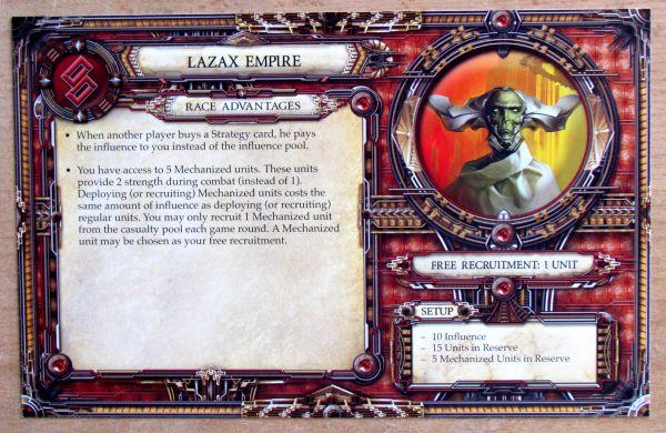 Rex: Final Days of an Empire - karta ras