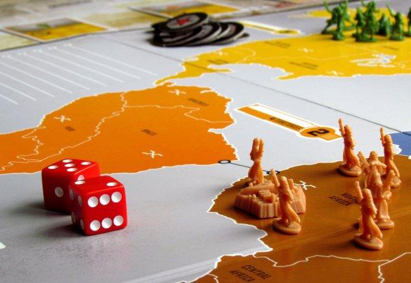 Risk - připravená hra