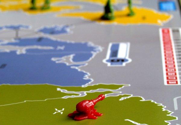 Risk - rozehraná hra