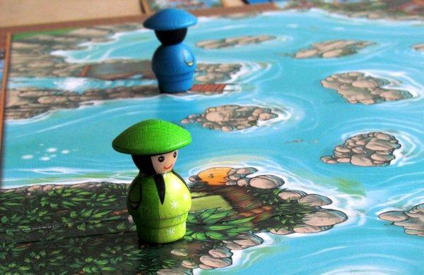 River Dragons - připravená hra