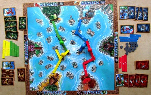 River Dragons - rozehraná hra
