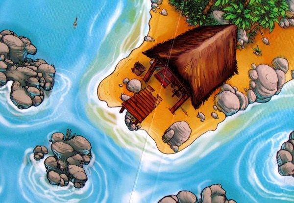 River Dragons - detail herního plánu