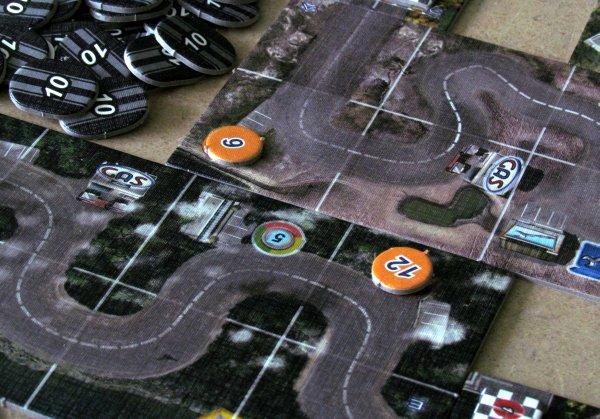 Road Rally USA - připravená hra