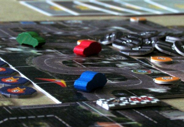 Road Rally USA - rozehraná hra