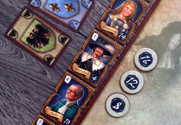 Royals - připravená hra