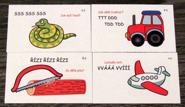 Rozhýbej svůj jazýček - karty