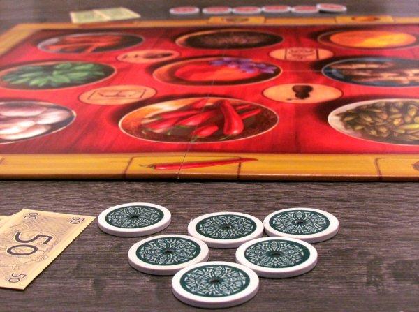 Safranito - připravená hra