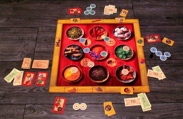 Safranito - rozehraná hra