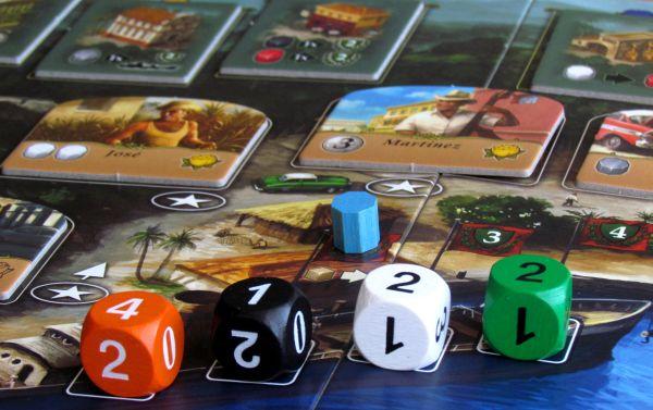 Santiago de Cuba - připravená hra