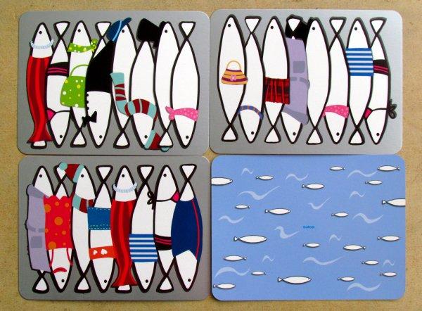 Sardines - karty