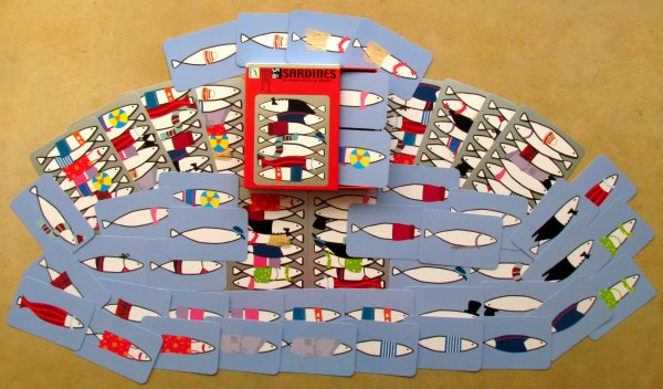 Sardines - balení