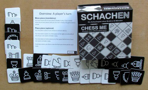 Schachen / Chess Me - packaging