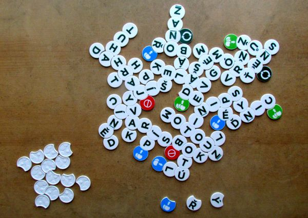 Scrabble Twist - ukončená hra