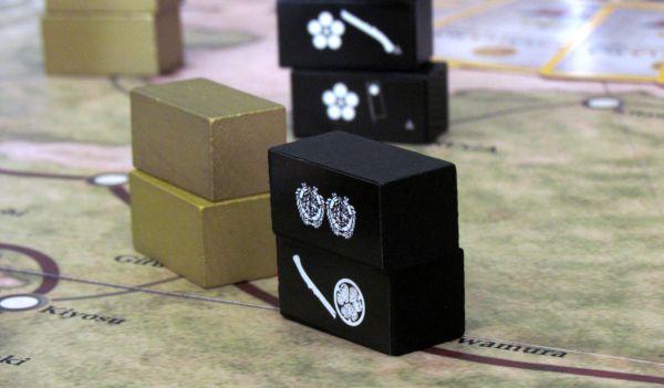 Sekigahara: Unification of Japan - game in progress