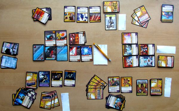 Sentinels of the Multiverse - game in progress