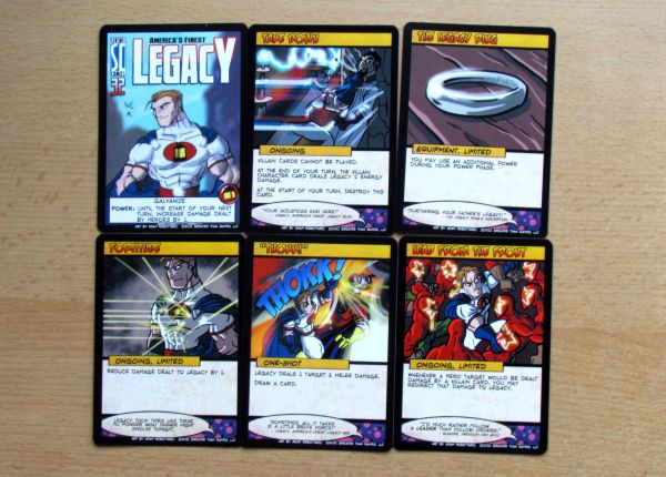 Photo: Sentinels of the Multiverse - cards
