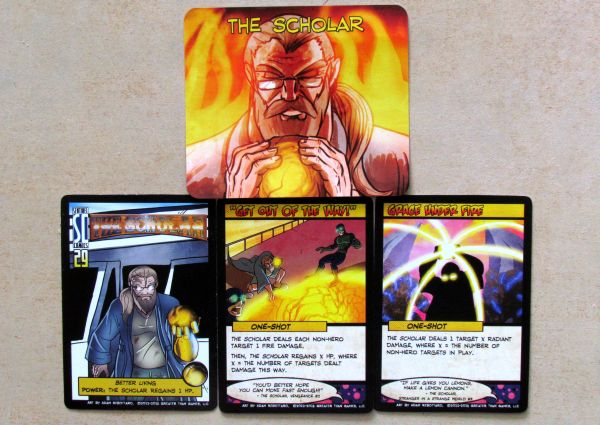 Sentinels of the Multiverse: Enhanced Edition - karty