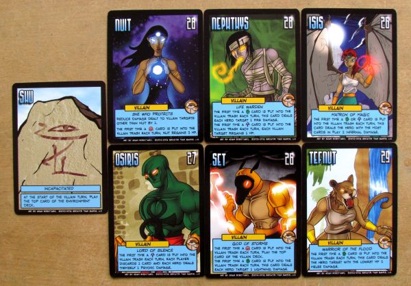 Sentinels of the Multiverse: Infernal Relics - karty