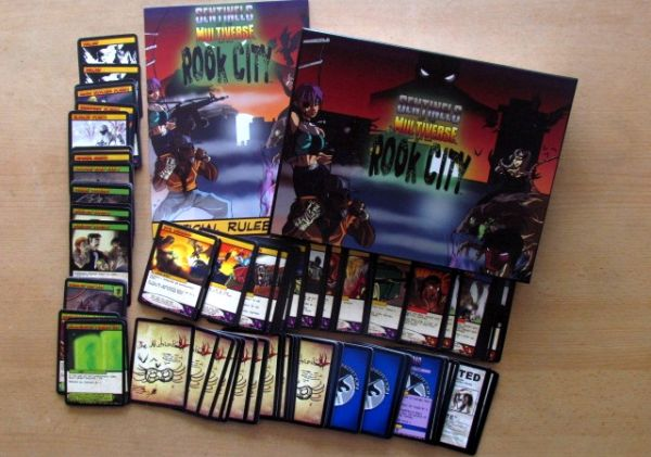 Sentinels of the Multiverse: Rook City - packaging