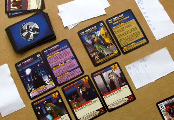 Sentinels of the Multiverse: Rook City - game in progress