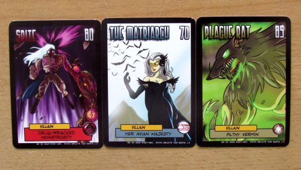 Sentinels of the Multiverse: Rook City - cards